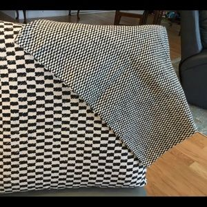 Throw pillow covers IKEA 20x20 new reversible b&w